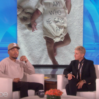 Chance the Rapper tells Ellen DeGeneres that Jesus is the reason he gives back to his community